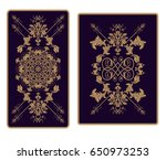 vector illustration for tarot... | Shutterstock .eps vector #650973253