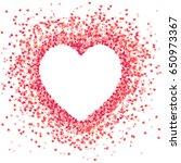 vector shape  confetti splash... | Shutterstock .eps vector #650973367