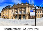 Small photo of BAYREUTH, GERMANY - CIRCA MAI, 2016: The Margravial Opera House alias Markgraefliches Opernhaus in Bayreuth, Germany