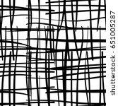 black and white seamless...   Shutterstock .eps vector #651005287