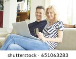 shot of a smiling middle aged... | Shutterstock . vector #651063283