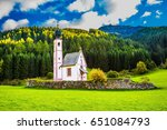 the church of st. mary... | Shutterstock . vector #651084793