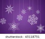Purple Christmas New Year...