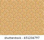 3d yellow brick pathway pattern   Shutterstock .eps vector #651236797