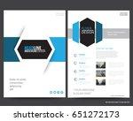 abstract vector modern flyers... | Shutterstock .eps vector #651272173