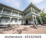 modern western style building... | Shutterstock . vector #651325603