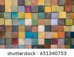 color block | Shutterstock . vector #651340753