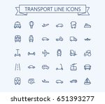 Transport Vector Icons Set....