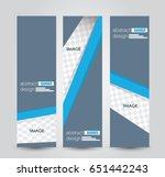 banner template. abstract... | Shutterstock .eps vector #651442243