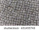 Texture Of Berlin's Street...