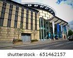 side view of edinburgh...   Shutterstock . vector #651462157