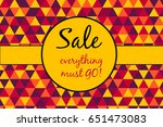 Sale Poster  Everything Must G...