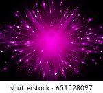 abstract pink background burst... | Shutterstock . vector #651528097
