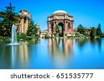 palace of fine arts in san...   Shutterstock . vector #651535777