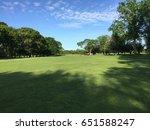 bright sunlight casts tree... | Shutterstock . vector #651588247