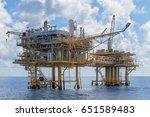 gulf of thailand  april 11 ... | Shutterstock . vector #651589483