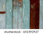 blue wooden wall | Shutterstock . vector #651592927