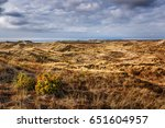 Small photo of View over the dunes near Agger, Nordjylland