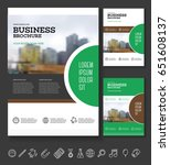modern brochure design template.... | Shutterstock .eps vector #651608137