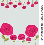 funny colorful illustration... | Shutterstock .eps vector #651629203