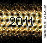vector dotted new year | Shutterstock .eps vector #65165332
