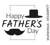 happy father's day greeting...   Shutterstock . vector #651668977