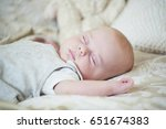 Newborn Baby With Hat And Some...