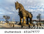 canakkale  turkey   october 31  ...   Shutterstock . vector #651679777