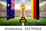 confederations cup. golden... | Shutterstock . vector #651793363