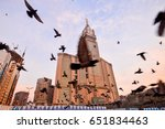 mecca  saudi arabia  jan 8 ... | Shutterstock . vector #651834463