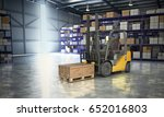 concept of warehouse the... | Shutterstock . vector #652016803