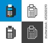 credit card reader | Shutterstock .eps vector #652020193