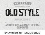 font.alphabet.script.typeface... | Shutterstock .eps vector #652031827