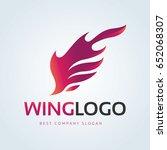 wing logo | Shutterstock .eps vector #652068307