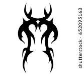 tattoo tribal vector design.... | Shutterstock .eps vector #652095163