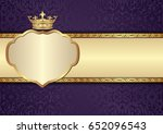 Antique Background With Royal...