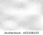 abstract halftone dotted... | Shutterstock .eps vector #652108153