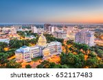 jackson  mississippi  usa... | Shutterstock . vector #652117483