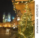 Old Town Square At Christmas ...
