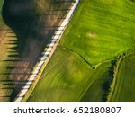 aerial view from top view.... | Shutterstock . vector #652180807