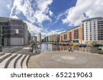 leeds dock is a coplex of... | Shutterstock . vector #652219063