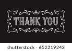 thank you lettering for... | Shutterstock .eps vector #652219243