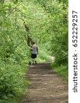 person walking through the... | Shutterstock . vector #652229257