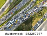 istanbul view from air shows us ... | Shutterstock . vector #652257397