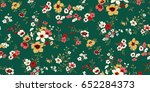 seamless floral pattern in... | Shutterstock .eps vector #652284373