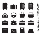 bag set  | Shutterstock .eps vector #652288477