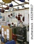 antiques at the auer dult fair... | Shutterstock . vector #652293817
