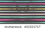 seamless vector striped summer... | Shutterstock .eps vector #652321717