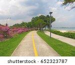 east coast park singapore | Shutterstock . vector #652323787