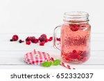 Raspberry Healthy Lemonade In...